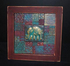 Elephant polymer clay